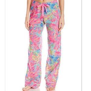 Lilly Pulitzer, pajama pants!